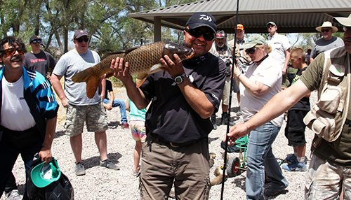 Record Day at Annual Carp Rodeo