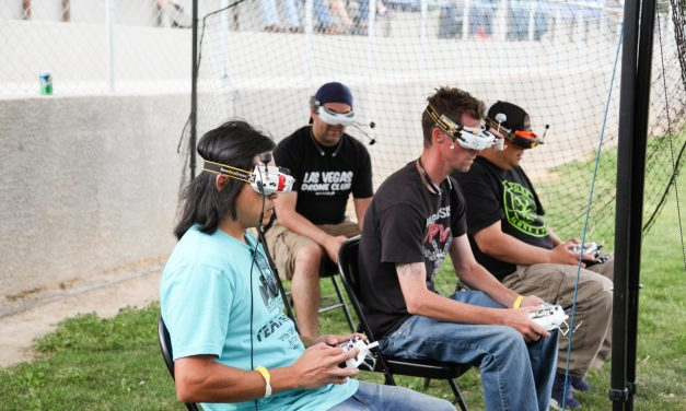 Drone Racing Showcased at Event