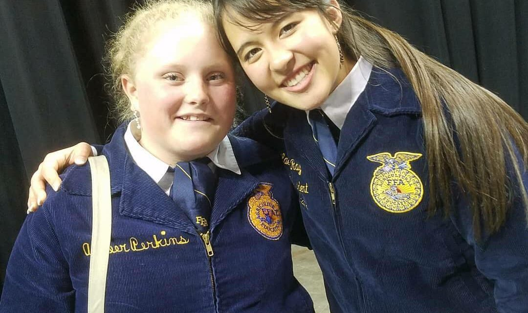 Ray Has Year of Learning and Growth as State FFA President