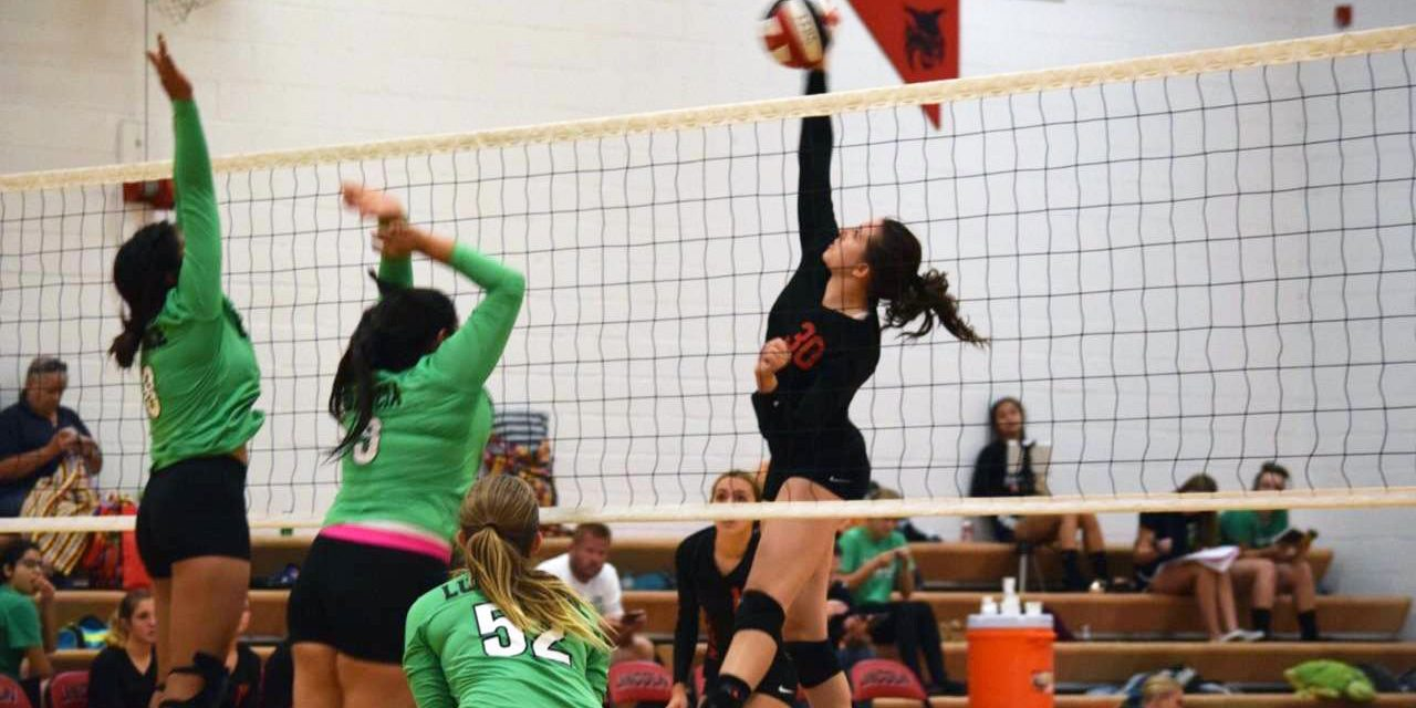 Lincoln Volleyball Defeats Virgin Valley