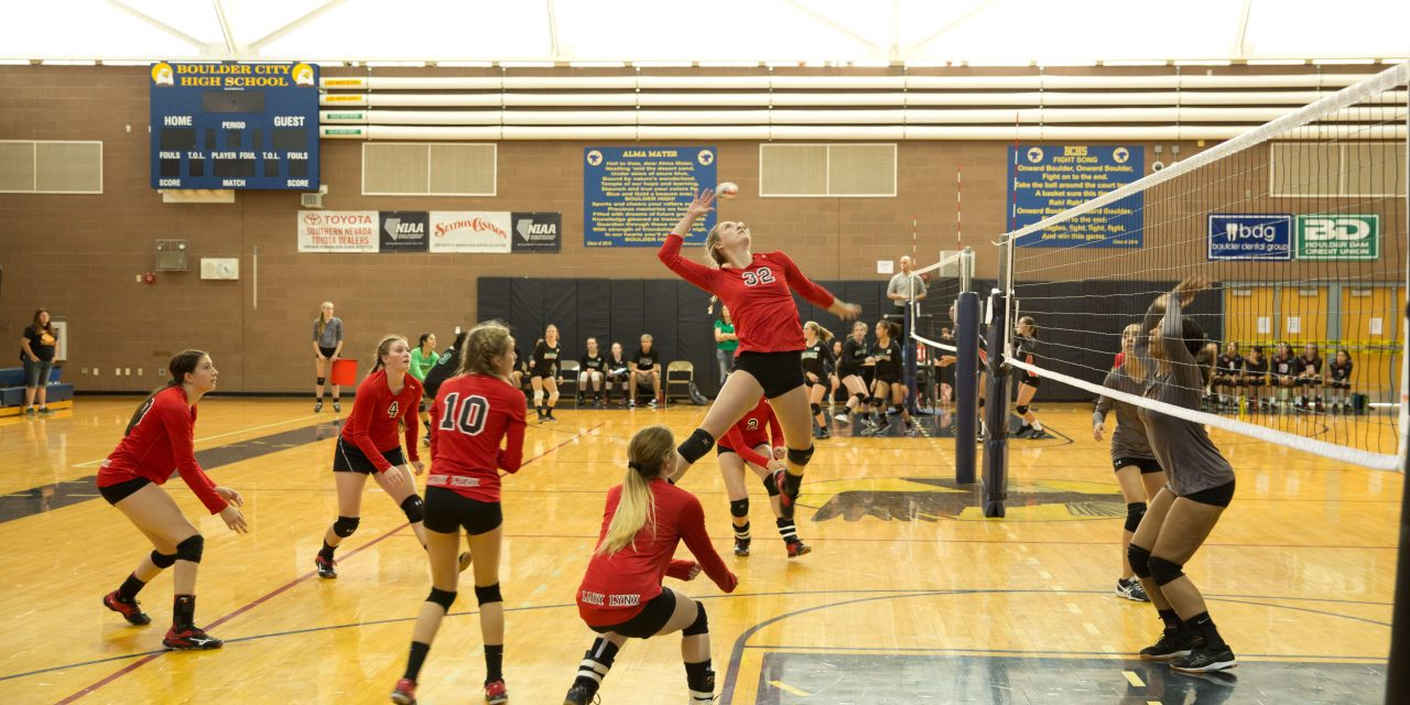 Lady Lynx Play at Boulder City Invitational